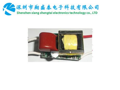 方形,高PF,高效率,过认证,无频闪的内置调光电源RG-TG-3W