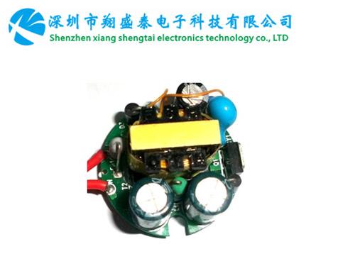 园形,高PF,高效率,过认证,无频闪的内置调光电源RG-TG-3W